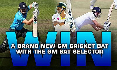 Win a brand new GM cricket bat with the GM Bat Selector