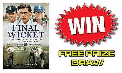 Win a copy of 'Final Wicket' by Nigel McCrery