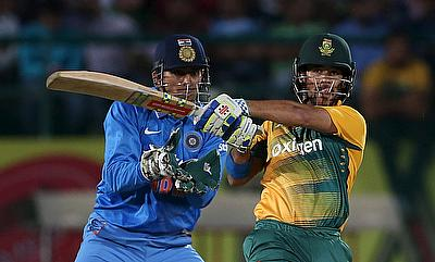 We were unfortunate not to get Duminy out - MS Dhoni