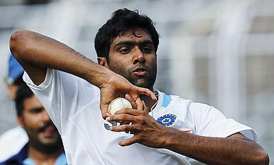 Ravichandran Ashwin goes through fitness workout in Mumbai