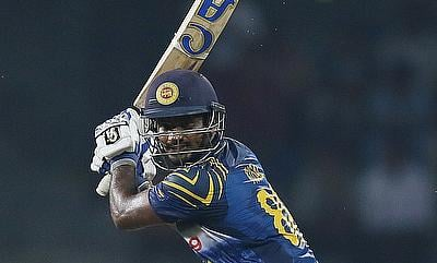 Kusal Perera scored a brisk 99 for Sri Lanka in the second ODI against West Indies in Colombo.
