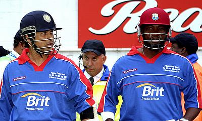 Sachin Tendulkar (left) and Brian Lara (right) have teamed-up once again for Cricket All Stars.