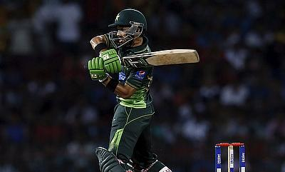 Mohammad Rizwan scored an unbeaten fifty for Pakistan against Hong Kong in the tour game.