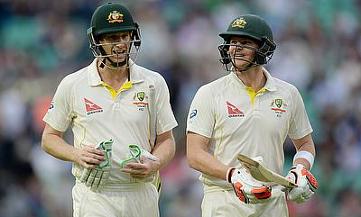 West Indies in deep trouble after Smith, Voges centuries