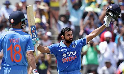 Maxwell, Rohit make progress in ICC ODI rankings