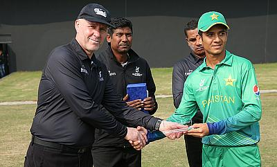 Hasan Mohsin was awarded the man of the match for picking three wickets and scoring an unbeaten 28 against Afghanistan.