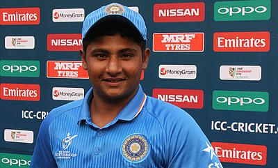 Sarfaraz Khan scored an important 74 for India in the ICC U-19 World Cup encounter against Ireland.
