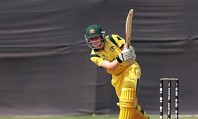Alex Blackwell hit a quickfire century to set up Australia's win