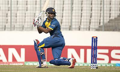 Avishka Fernando scored a 96-ball 95 for Sri Lanka against England in the ICC U-19 World Cup quarter-final.