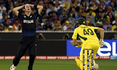 Matt Henry (left) was the leading wicket-taker in the ODI series against Australia with eight scalps from three games.