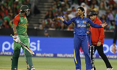 Sabbir Rahman (left) scored 54-ball 80 for Bangladesh.