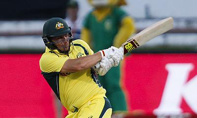 Aaron Finch blasted 156 against England in 2013 - but is his record under threat?