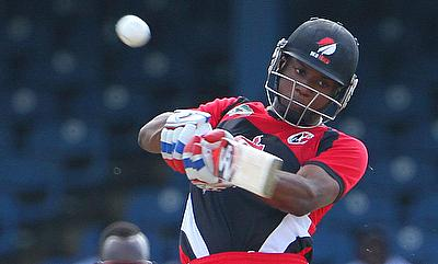 Evin Lewis has scored 1044 runs from 35 T20 games including a century.