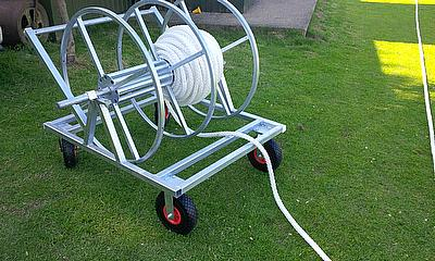 Durant's boundary rope and winder - essential equipment for every club