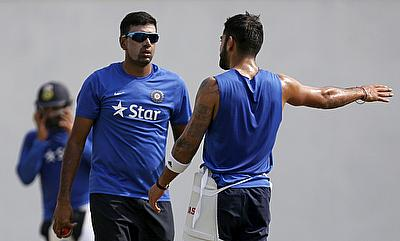 Ravi Ashwin (centre) is Graeme Swann's pick as leading ICC WT20 2016 wicket-taker