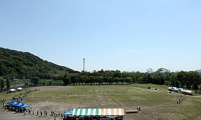 The Sano International Cricket Ground, pictured here during the 2014 ICC EAP Women's Cricket Trophy