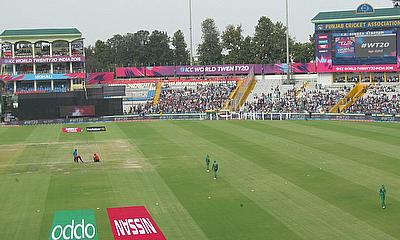 Mohali hosted the day's opening WT20 clash - and Australia will be back there on Sunday