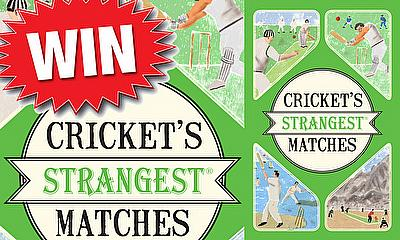 Win a copy of 'Cricket's Strangest Matches' by Andrew Ward