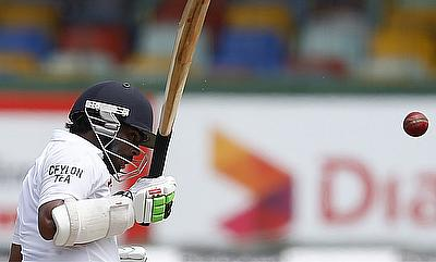 Niroshan Dickwella offered resistance with a 69-ball 53.
