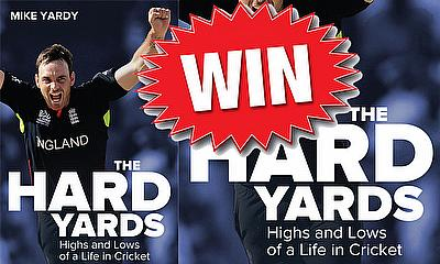 Win a copy of 'The Hard Yards' by Michael Yardy