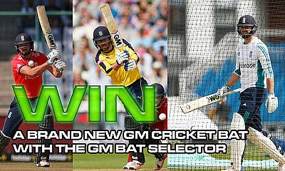 Win a brand new GM cricket bat
