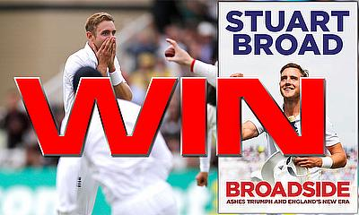 Win a copy of 'Broadside' by Stuart Broad