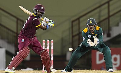 Darren Bravo (left) wants to score big in the tri-series.