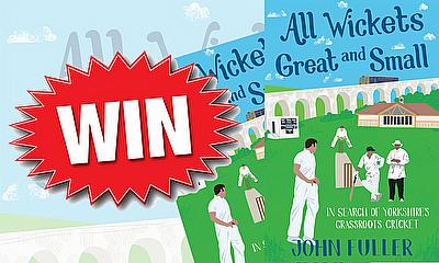 Win a copy of 'All Wickets Great and Small'
