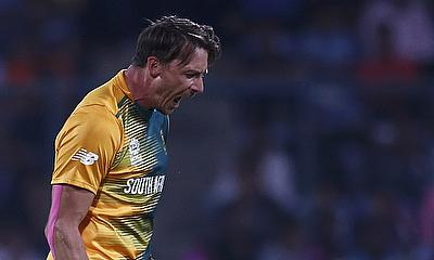 Dale Steyn took four wickets for Glamorgan as they beat Kent