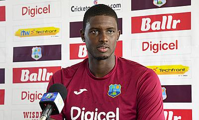 Jason Holder bowled just two overs in the game against Australia