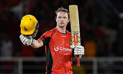 Colin Munro became the first foreign player to score a century in CPL.