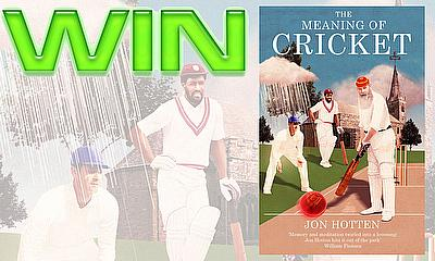 Win a copy of 'The Meaning Of Cricket'