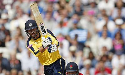 James Vince was in the runs for Hampshire