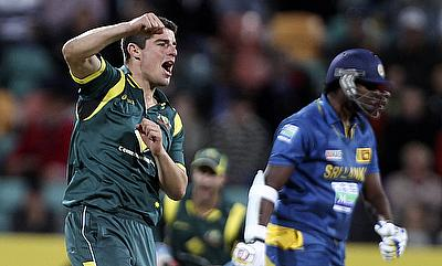 Moises Henriques (left) is hopeful of cementing his position in Test team in Sri Lanka.