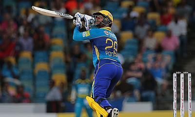 Nicholas Pooran set Kensington Oval on fire with his 39-ball 81 runs.