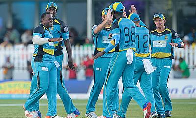 St Lucia Zouks finished third in the group stage.