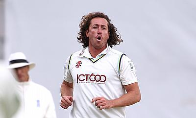 Ryan Sidebottom took his 400th first-class wicket for Yorkshire