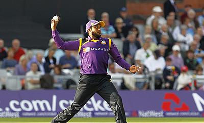 Adil Rashid took four for 26 to bowl Yorkshire Vikings to a convincing win