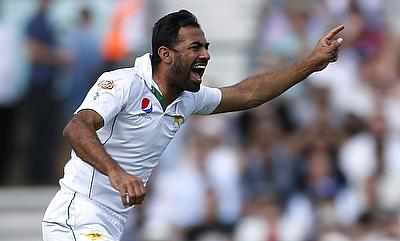 Wahab Riaz inflicted a run out of Chris Woakes and picked Jonny Bairstow in the next delivery to shut the door for England in the fourth Test.