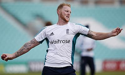 Ben Stokes suffered the injury in the second Test against Pakistan.