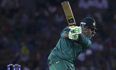 Sharjeel Khan scored the fourth fastest century for Pakistan in ODIs.