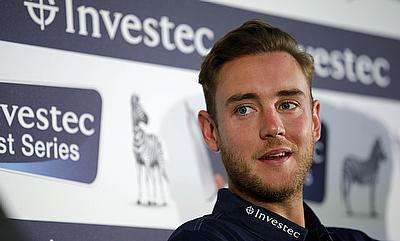 Stuart Broad was recently signed by Big Bash League franchise Hobart Hurricanes