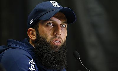 Moeen Ali in a press conference ahead of the fifth ODI against Pakistan.