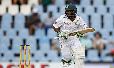 Temba Bavuma scored 113 off 123 deliveries on his debut