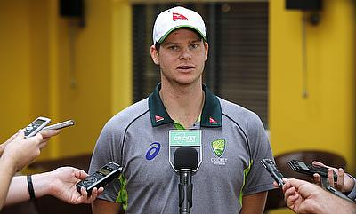 Steve Smith is wary of the threat from Ireland's top order.