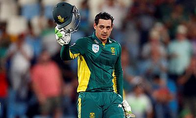 Quinton de Kock scored 178 off 142 deliveries.