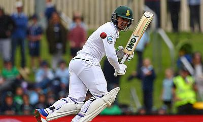 Quinton de Kock scored his second century in Tests