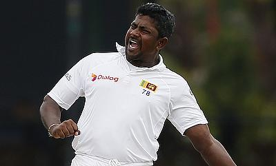 Rangana Herath picked a 13-wicket haul in the second Test against Zimbabwe in Harare.