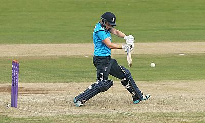 Tammy Beaumont was once again among the runs for England