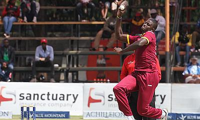 Jason Holder led from the front with the ball for West Indies against Sri Lanka in Harare